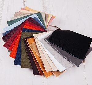 Genuine Leather Photo Album Swatches