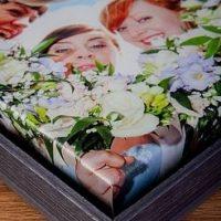 Black Wash Canvas Box Frame
