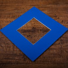 Cobalt Blue Mount Board