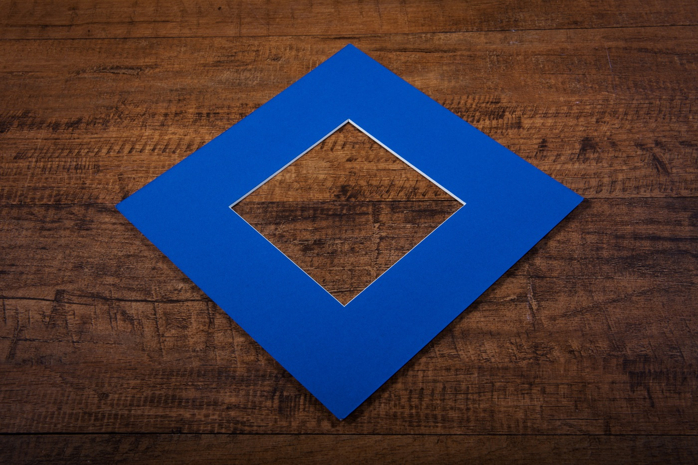 mount board in cobalt blue